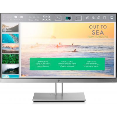 MONITOR HP ELITEDISPLAY E233 LED 23'' FHD PLATA 1FH46AA
