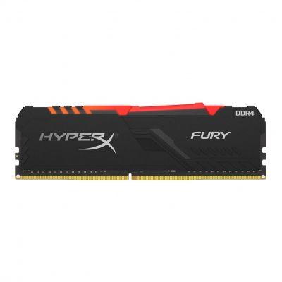 MEMORIA RAM KINGSTON HYPERX FURY BLACK DDR4 16GB 3000MHz RGB