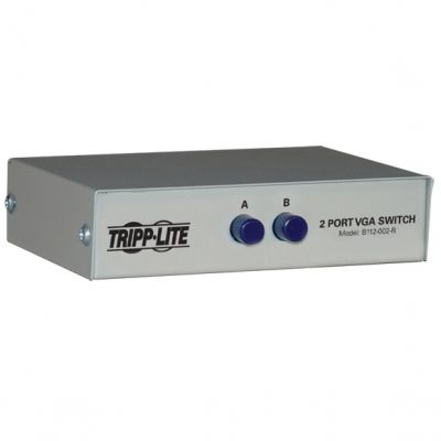 SWITCH TRIPP LITE B112-002-R GA/SVGA 2 PUERTOS 1600X1280 PIXELES
