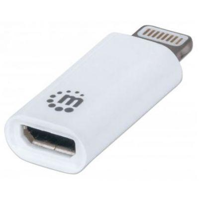 ADAPTADOR MANHATTAN ILYNK MICRO USB - LIGHTNING IPHONE 5 390620