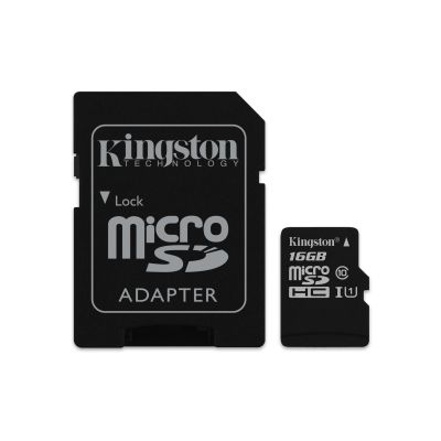 MEMORIA MICRO SD KINGSTON CANVAS SELECT 16GB UHS-I CL10 (SDCS/16GB)