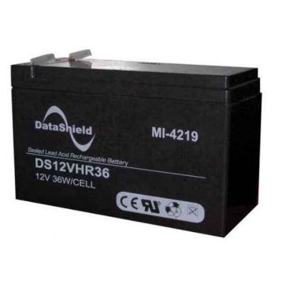 BATERIA PARA NO BREAK DATASHIELD MI-41219 NEGRO 12V 9AH 2 AÑOS