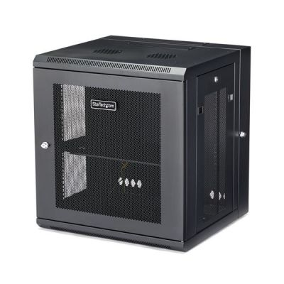 RACK STARTECH RK12WALHM DE PARED ABISAGRADO 12U 90KG NEGRO