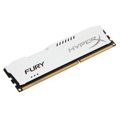 MEMORIA RAM KINGSTON HYPERX FURY WHITE DDR3 1333MHz 4GB HX313C9FW/4