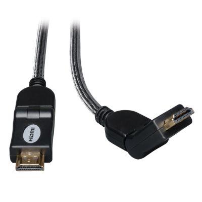 TRIPP LITE CABLE HDMI ALTA VELOCIDAD ULTRA HD 4K CON. GIRATORIOS 3.05m