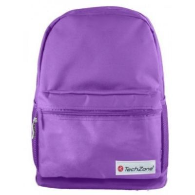 BACKPACK BASIC TECHZONE TZ17LBP01-MOR 15.6 PULGADAS