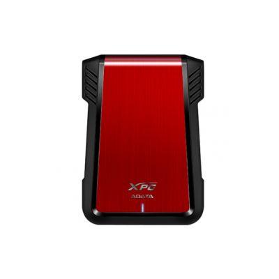 "GABINETE PARA DISCO ADATA XPG EX500 - SATA 3.0, USB 3.1, 2.5"", ROJO"