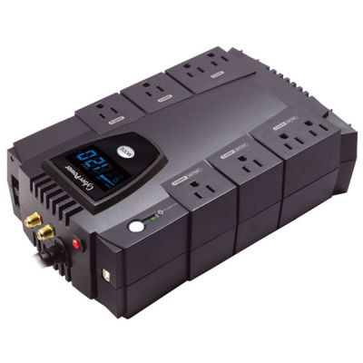 NO BREAK CYBERPOWER CP825AVRLCD 825VA 450W 8HRS HOGAR Y OFICINA