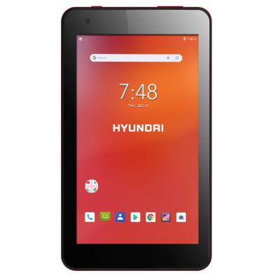 "TABLET 7"" HYUNDAI 7W4X 4CORE 1GB 16GB ANDROID 8.1 CAM 2MIPX ROJA"