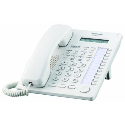 TELEFONO ANALOGO PANASONIC LCD 1 LINEA 12 TECLAS KX-AT7730X BLANCO