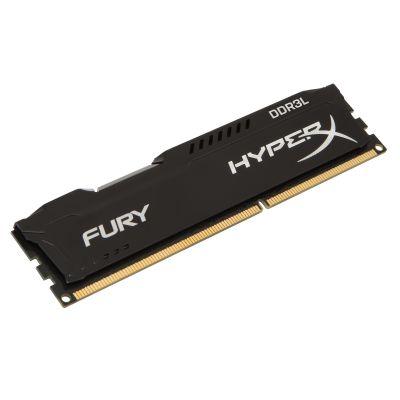 MEMORIA RAM KINGSTON HYPERX FURY 8GB DDR3L 1600MHZ 1.35V CL10 XMP