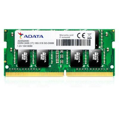 MEMORIA DDR4 ADATA 16GB 2400MHZ SODIMM (AD4S2400716G17-SGN)