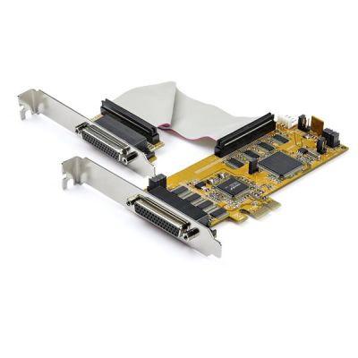TARJETA SERIAL RS232 STARTECH PCIe 8 PUERTOS BAJO PERFIL PEX8S1050LP