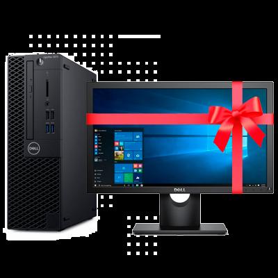 "COMPUTADORA DELL OPTIPLEX 3070 CI5 9500 8G 1T W10P 9RVR3+MONITOR 18.5"""