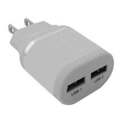 CARGADOR USB BROBOTIX BLANCO 161264B