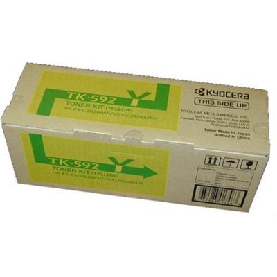 TONER KYOCERA TK-592Y AMARILLO 5000 PAGINAS 1T02KVAUS0