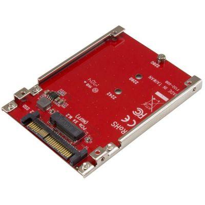 TARJETA STARTECH PCI EXPRESS M.2 A U.2 PARA SSD NVME M.2 U2M2E125