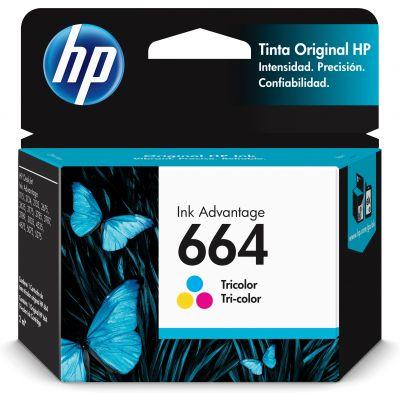 CARTUCHO HP 664 TRICOLOR PARA 1115 / 2135 (F6V28AL)
