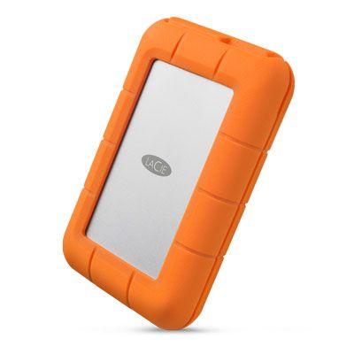 DISCO DURO EXTERNO LACIE USB 3.1 4TB RUGGED RAID PRO 0/1 STGW4000800