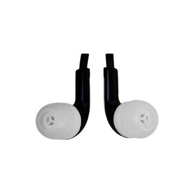 AUDIFONOS DE VIAJE IN-EAR EASY LINE 3.5M 1.2MT NEGRO/BLANCO EL-995234