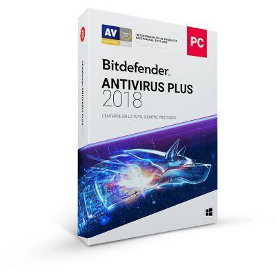 ANTIVIRUS BITDEFENDER 2018 PLUS 1AÑO 5 USUARIOS (TMBD-403)