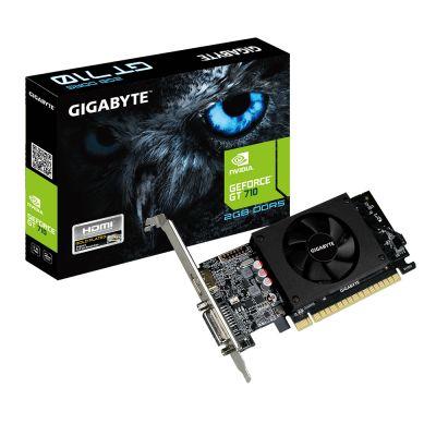 TARJETA DE VIDEO GIGABYTE NVIDIA GEFORCE GT 710 2GB GV-N710D5-2GL