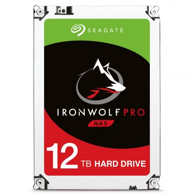 DISCO DURO INTERNO SEAGATE 12TB 3.5 ST12000NE0007 256 7200RPM IRONWOLF