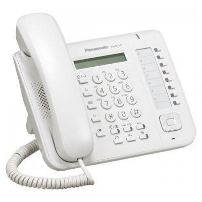 TELEFONO PANASONIC MULTILINEA 8 TECLAS LCD KX-DT521X NEGRO