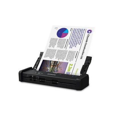 SCANNER EPSON DS-320, 600 X 600 DPI, ESCÁNER COLOR, USB 3.0, NEGRO
