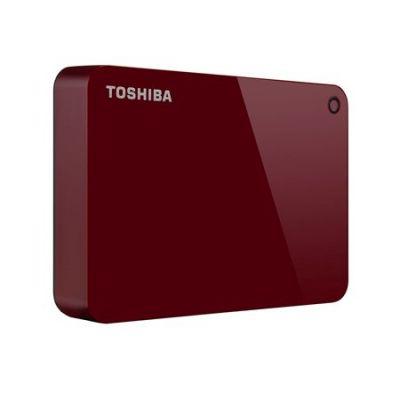 """DISCO DURO EXTERNO TOSHIBA CANVIO ADVANCE 2TB 2.5"""" ROJO HDTC920XR3AA"""