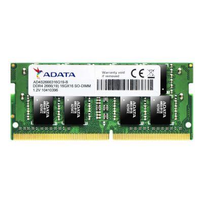 MEMORIA RAM ADATA 4GB DDR4 SODIMM 2666MHZ AD4S266638G19-S