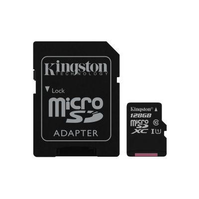 MEMORIA MICRO SD KINGSTON CANVAS SELECT 128GB UHS-I CL10 (SDCS/128GB)