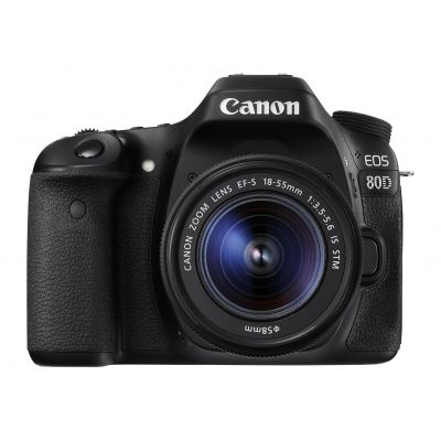 CAMARA CANON EOS REFLEX DIGITAL 80D EF-S 18-55MM 24.2 MP