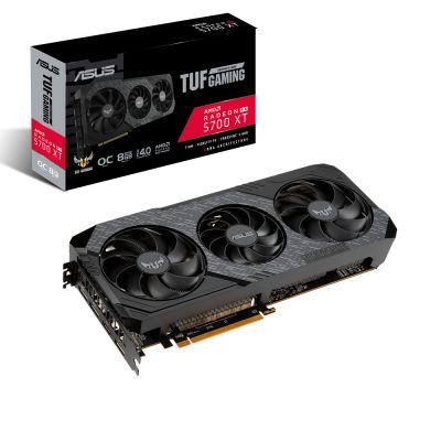 TARJETA DE VIDEO ASUS TUF RADEON RX 5700XT EVO GAMING 8GB GDDR6