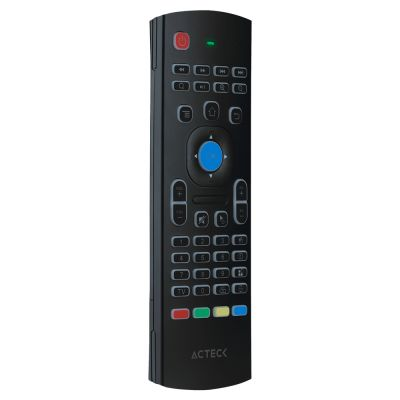 CONTROL ACTECK AIR MOUSE C/TECLADO QWERTY ANDROID NEGRO EX7 AC-927000