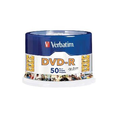 DVD VERBATIM 97176 -R 16X 120MIN 4.7GB TORRE C/50