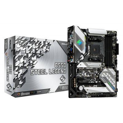 TARJETA MADRE ASROCK B550 STEEL LEGEND AM4 ATX USB3.2 DDR4