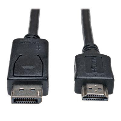 CABLE ADAPTADOR DISPLAYPORT A HDMI 3.05 MTS TRIPPLITE P582-010