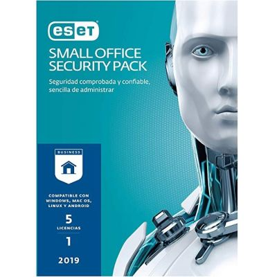 ANTIVIRUS ESET SMALL OFFICE SECURITY PACK 5LIC V2019 1YR (SO519)