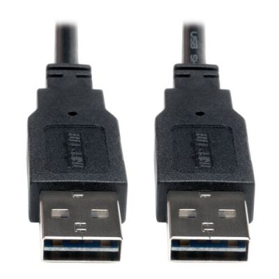 CABLE USB 2.0 ALTA VELOCIDAD UNIV REVERSIBLE M/M 1.83 M ì6 PIES+