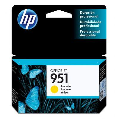 CARTUCHO HP 951 AMARILLO Pro 251dw/276dw/8600/N811a(d) (CN052AL)
