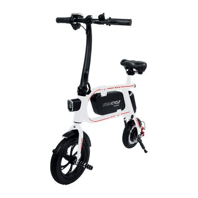 BICICLETA ELECTRICA SWAGCYCLE ENVY S/PEDALES WHITE