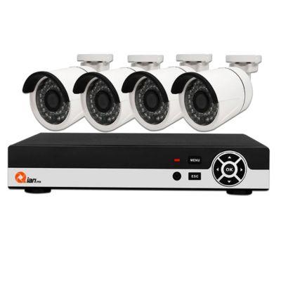 KIT DE VIGILANCIA QIAN  4 CAM 4 CH 1080P HD QKC4D41903
