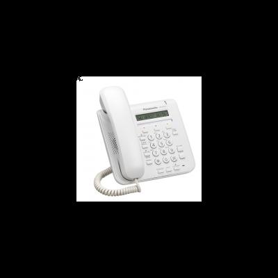 TELEFONO IP PANASONIC KX-NT511AXW LCD DE 1 LINEA 2 ETHERNET BLANCO