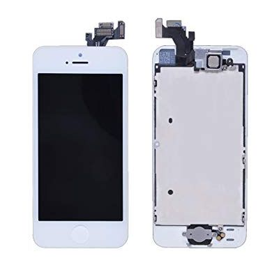 DISPLAY LCD+DIGITIZER IPHONE 5 (SIN CAM/BOTON) BLANCO (MOBE-5GW)