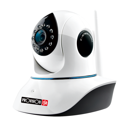 CAMARA IP WIFI PROVISION PT-838 INTERIOR 18 FPS 25 4 / 3 MM 1 / 3""